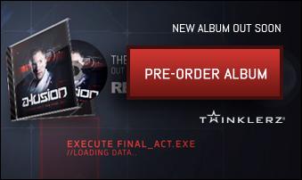 Pre-order A-lusion album now
