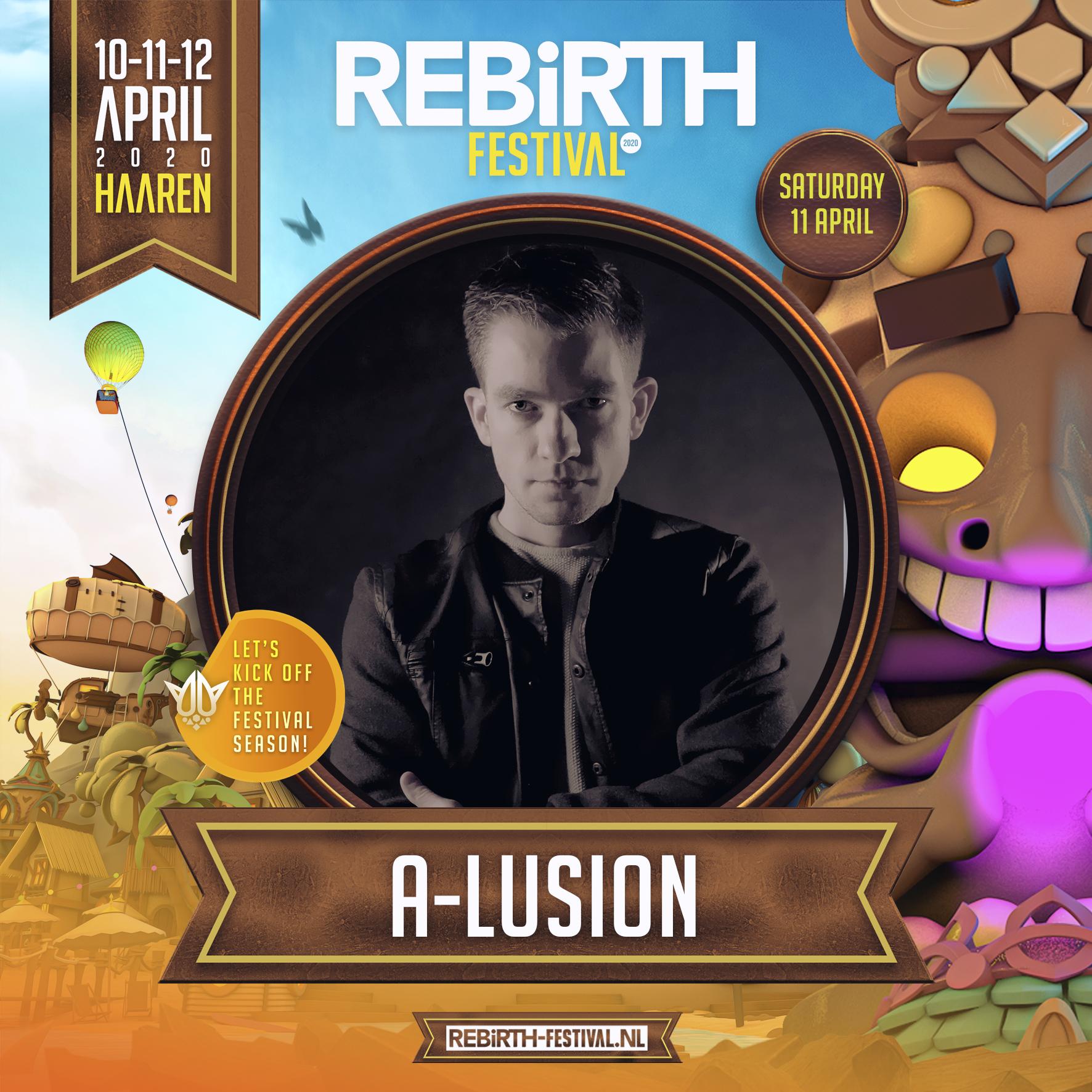 A-lusion @ Rebirth 2020 (Cancelled)