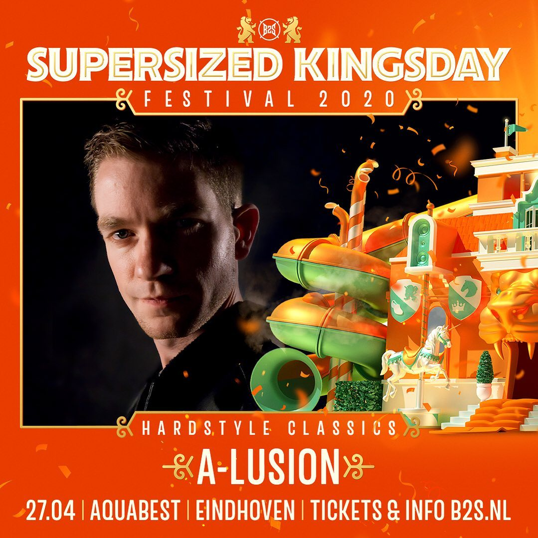 A-lusion @ Supersized Kingsday (Cancelled)